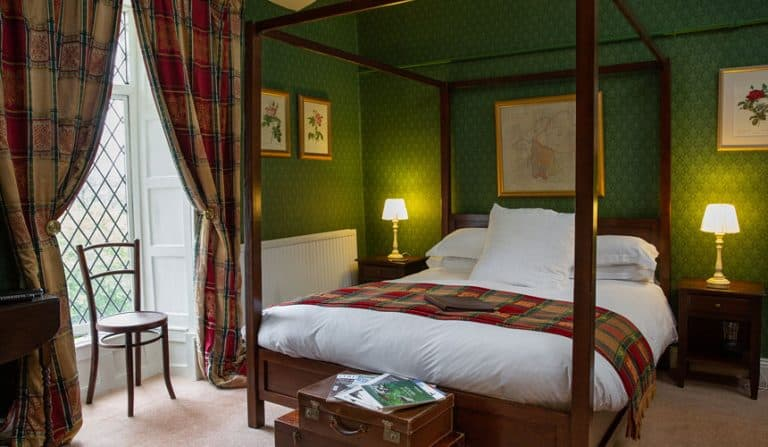 Four Poster Double Room at Augill Castle