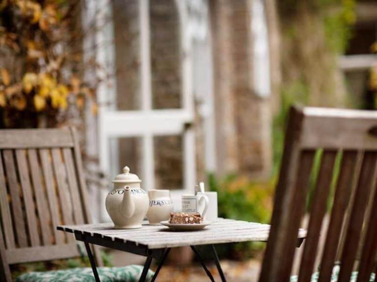 Tea in the Orangery Private Garden