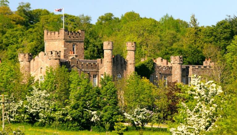 Augill Castle Exterior In Summer