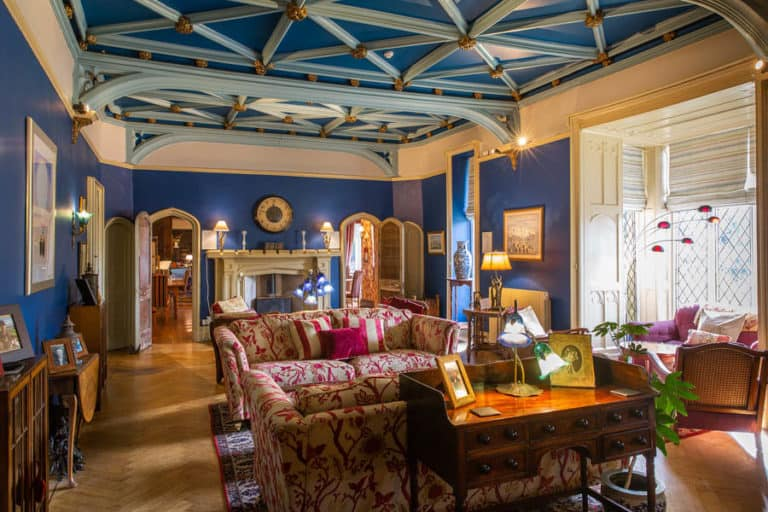 Augill Castle Sitting Room
