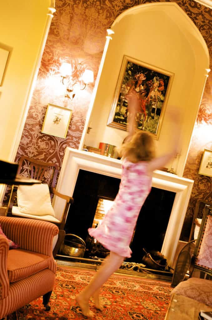 Dancing in Augill Castle Drawing Room