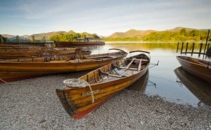 Derwentwater, at 3 miles long, 1 mile wide and 72 feet deep, is fed by the River Derwent catchment area in the high fells at the head of Borrowdale, and has a long historical and literary background.